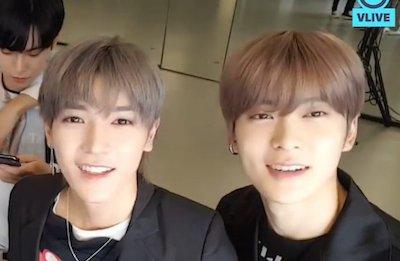 【NCT】今日はテヨン君がジェヒョンのメイクヌナ?(笑)