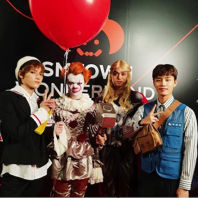 【NCT】nctのメンバーたち全員のハロウィンコスプレ画像まとめ2018!