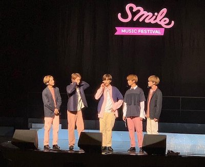 【NCT】nctdreamが5人でSmile music festivalに出演【動画】