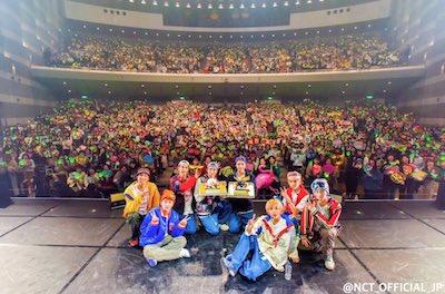 【NCT】nct127 ジェヒョンとジャニの誕生日を広島公演オリジナルケーキでお祝い♡