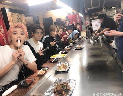 【NCT】nct127 メンバー達が訪れた広島のお好み焼き屋さん♡♡