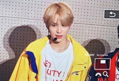 【NCT】nct127 ジョンウが金髪になって完全に王子様【画像】