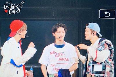 【NCT】nct127 テヨンとユウタとジェヒョン石川公演でのかわいいやりとり♡