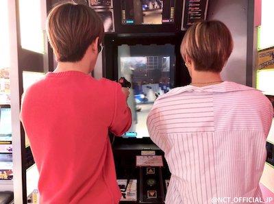 【NCT】ゲーセンで遊ぶジェヒョンとユウタ最高に男の子じゃん・・・