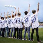【NCT】nct127メンバーたちがドジャースの始球式に参加!