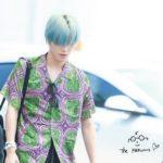 【NCT】nct127 テヨンついに妖精に?青い髪色に変えて韓国を出国【空港ファッション/19/07/06】