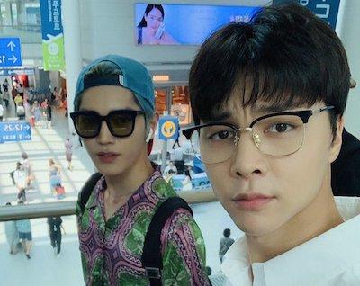 【NCT】nct127 メンバーたちがロンドンへ出国【空港ファッション画像まとめ/19/07/06】
