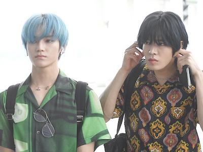 【NCT】nct127 シンガポールへ出国!テヨン、ユウタ、空港ファッション♡【ユテ】