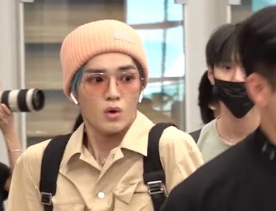 【NCT】nct127本日の空港で彼らに向かって突進してきた女【動画】19/07/21