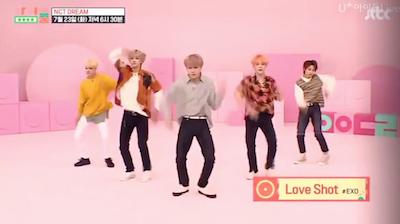 【NCT】nctdream 東方神起の「運命」EXOの『ラブシャ』NCT U『BOSS』などを踊るドリム