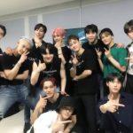 【NCT】 EXOのコンサートを応援しに来たテヨン、ジェヒョン、ドヨン、マーク、ジャニ♡