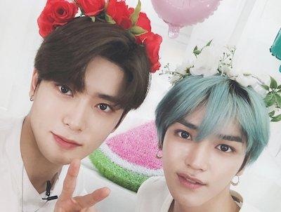 【NCT】nct127 花かんむりが似合いすぎちゃうテヨンとジェヒョン♡♡♡