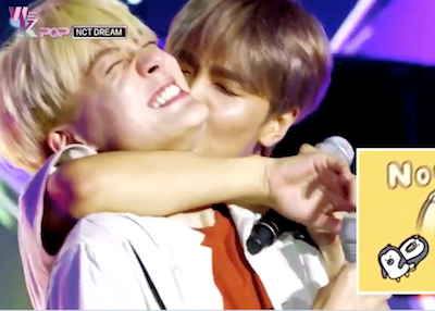 【NCT】nctdream ジェノの首にヘチャンがキス♡これはいいものだ・・・
