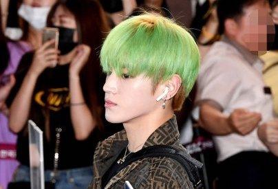 【NCT】nct127 テヨンの髪色がチェンジ!青から緑へw w w 【19/08/16/空港ファッション】