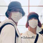 SuperM スケジュールのためルーカスとテンは北京からドバイへ【空港ファッション】