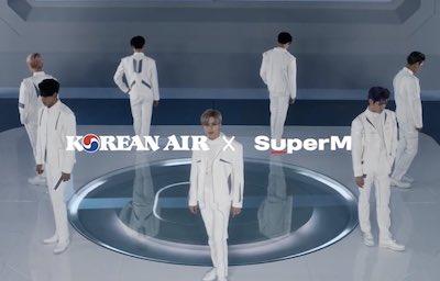 【SuperM】Korean air(大韓航空)×SuperMのコラボティーザー動画『Let's go everywhere』