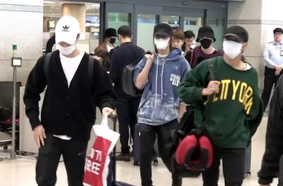 【NCT】nct127 メンバーたちがスペインから帰国♡【191105/空港ファッション】