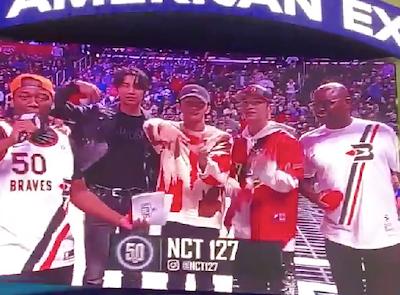 【NCT】nct127 ジャニ、テヨン、マークがバスケの試合へ!