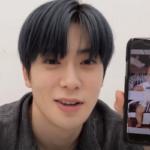 【NCT】Vライブ配信中、ジェヒョンの携帯にドヨンからカカオが入るwww
