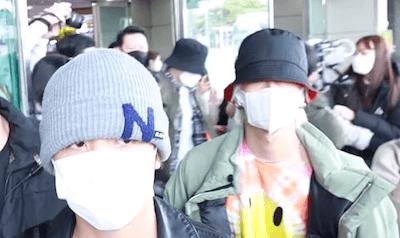 【NCT】nct127 メンバーたちが日本公演を終えて韓国へと帰国【200225/空港ファッション】